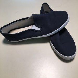 Keds Slip-on Casual Sneakers Blue Women's 9